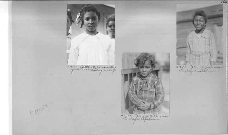 Mission Photograph Album - Negro #2 page 0169