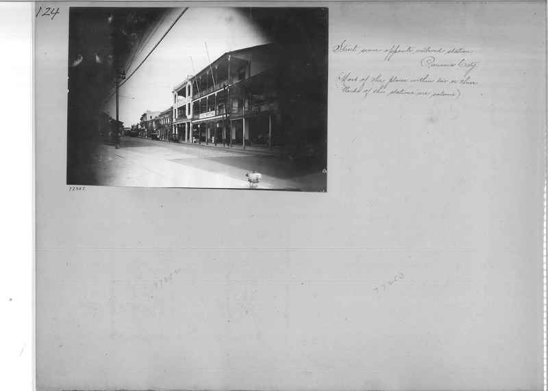 Mission Photograph Album - Panama #03 page 0124