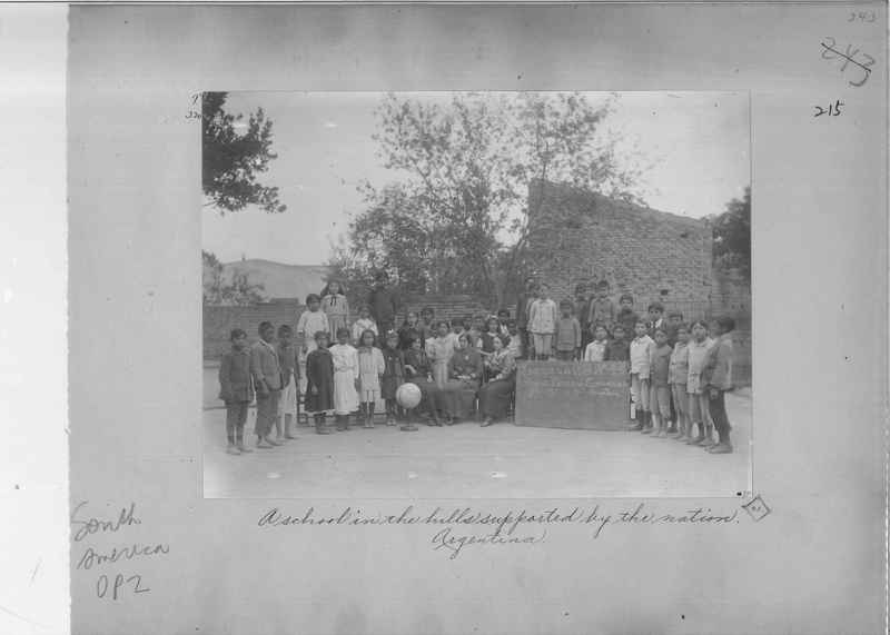 Mission Photograph Album - South America O.P. #2 page 0215