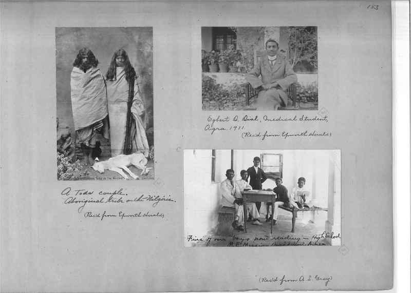Mission Photograph Album - India - O.P. #01 Page 0153