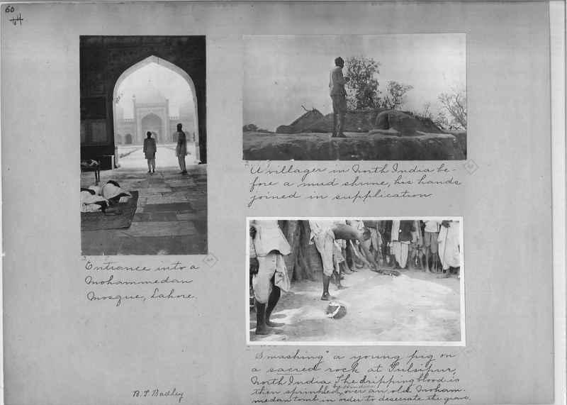 Mission Photograph Album - India - O.P. #01 Page 0060