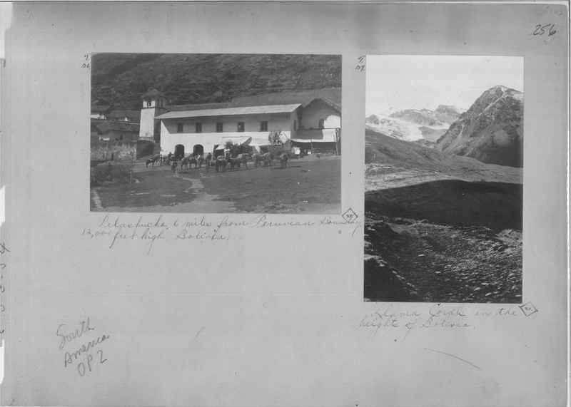 Mission Photograph Album - South America O.P. #2 page 0256