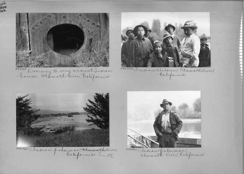 Mission Photograph Album - Indians #2 page_0212