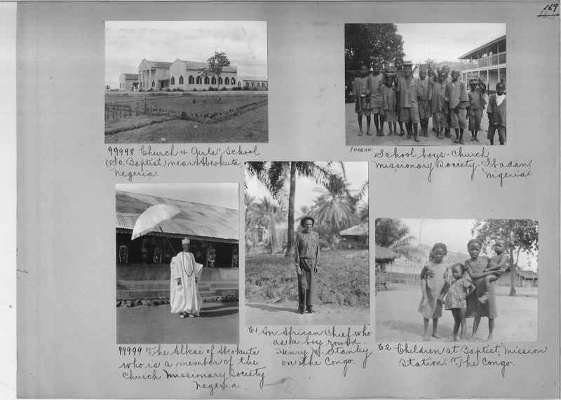 Mission Photograph Album - Africa #14 page 0169