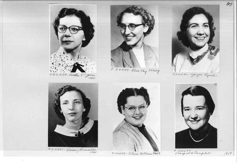 Mission Photograph Album - Portraits #10 Page 0137