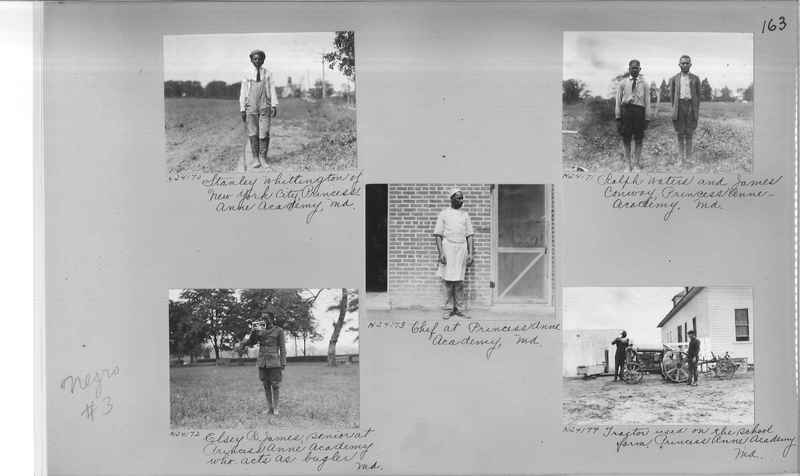 Mission Photograph Album - Negro #3 page 0163