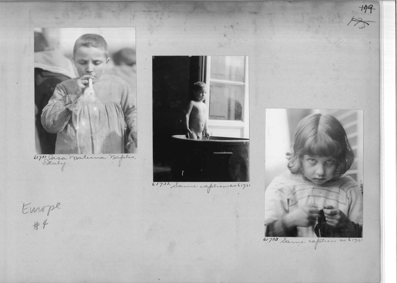 Mission Photograph Album - Europe #04 Page 0179