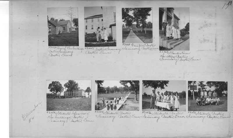 Mission Photograph Album - Education #2 page 0017