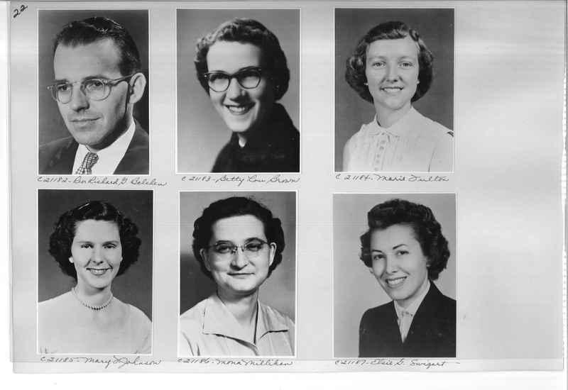 Mission Photograph Album - Portraits #10 Page 0022