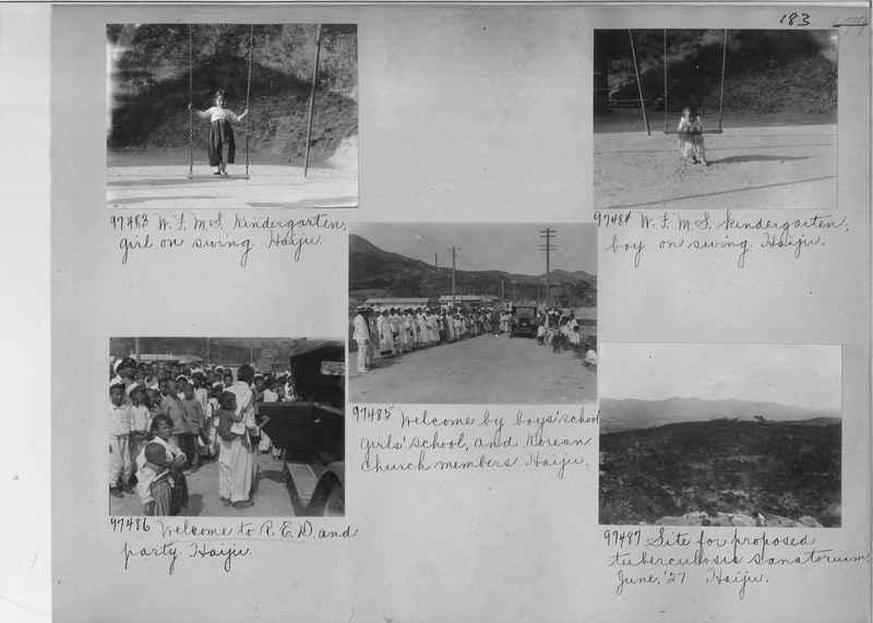 Mission Photograph Album - Korea #5 page 0183