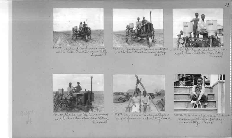 Mission Photograph Album - Negro #6 page 0013