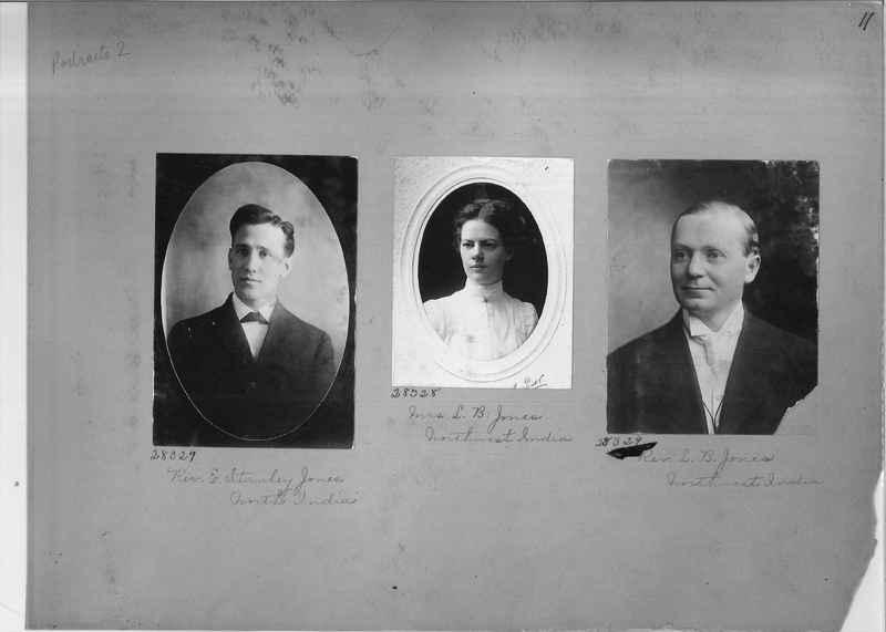 Mission Photograph Album - Portraits #2 page 0011