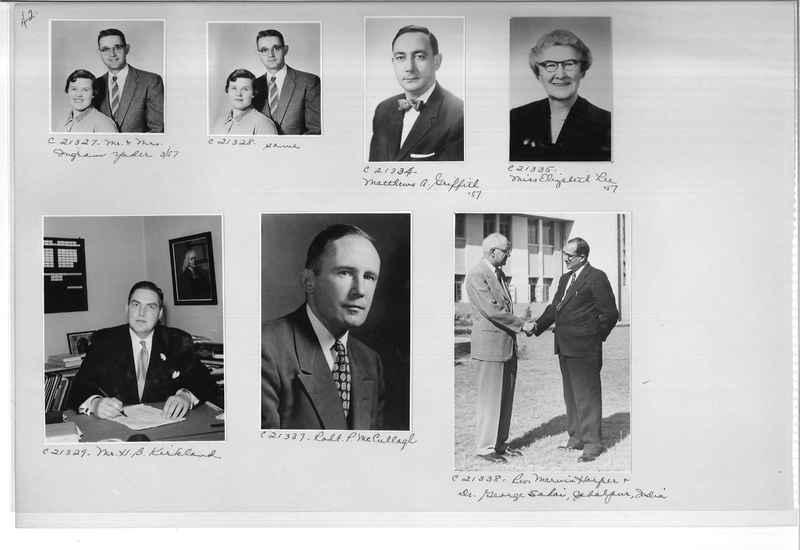 Mission Photograph Album - Portraits #10 Page 0042