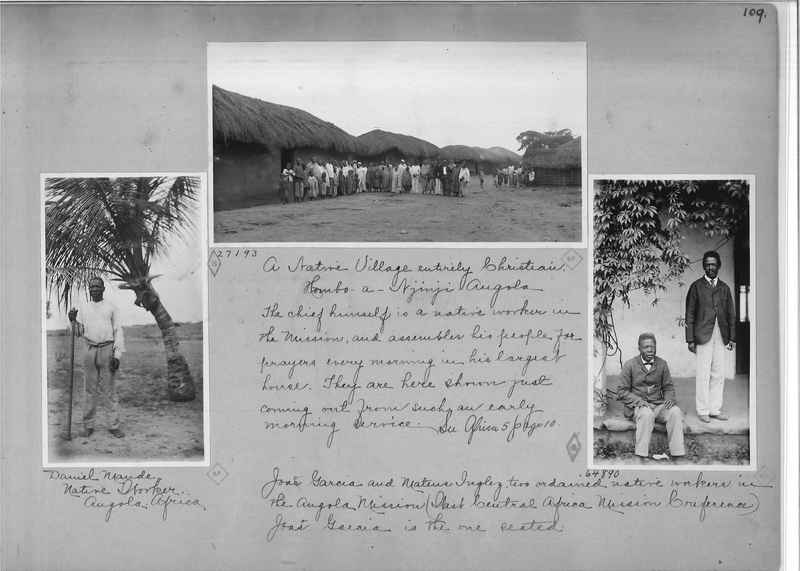 Mission Photograph Album - Africa - Madeira O.P. #1 page 0109