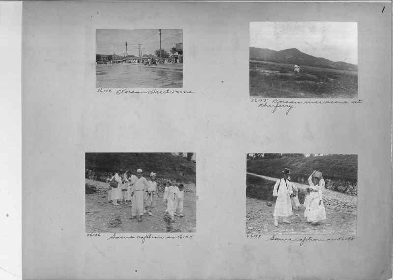 Mission Photograph Album - Korea #5 page 0001