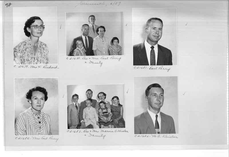 Mission Photograph Album - Portraits #10 Page 0072