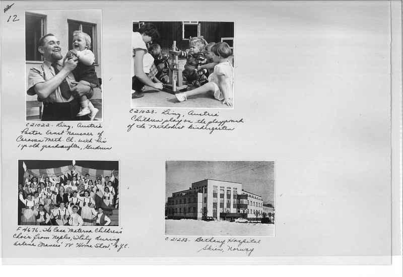Mission Photograph Album - Europe #10 Page 0012