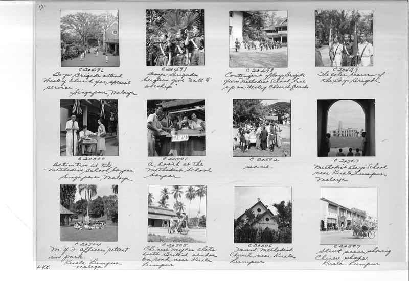 Mission Photograph Album - Malaysia #8 page 0010