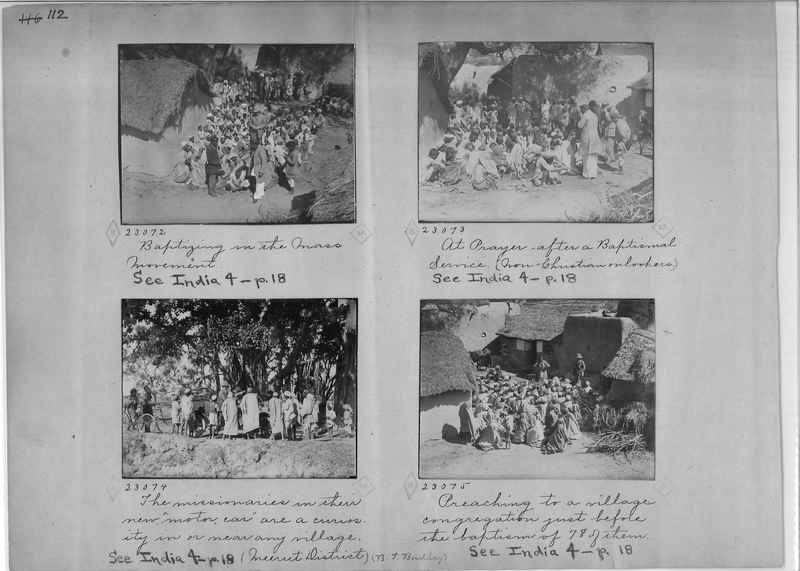 Mission Photograph Album - India - O.P. #01 Page 0112