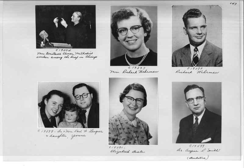 Mission Photograph Album - Portraits #08 Page 0147