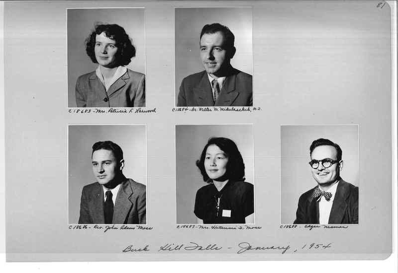 Mission Photograph Album - Portraits #08 Page 0081