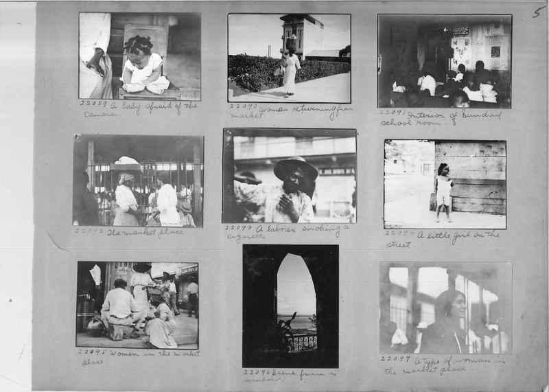 Mission Photograph Album - Panama #02 page 0005