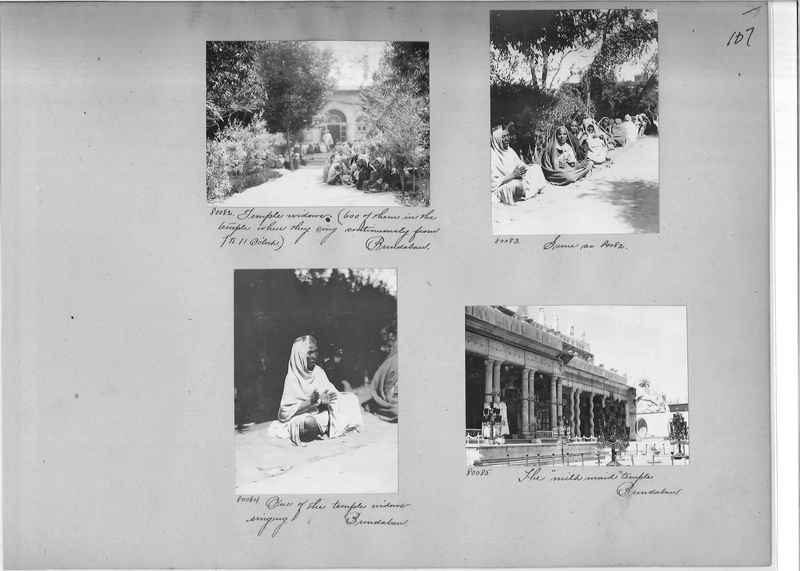 Mission Photograph Album - India #09 Page 0107