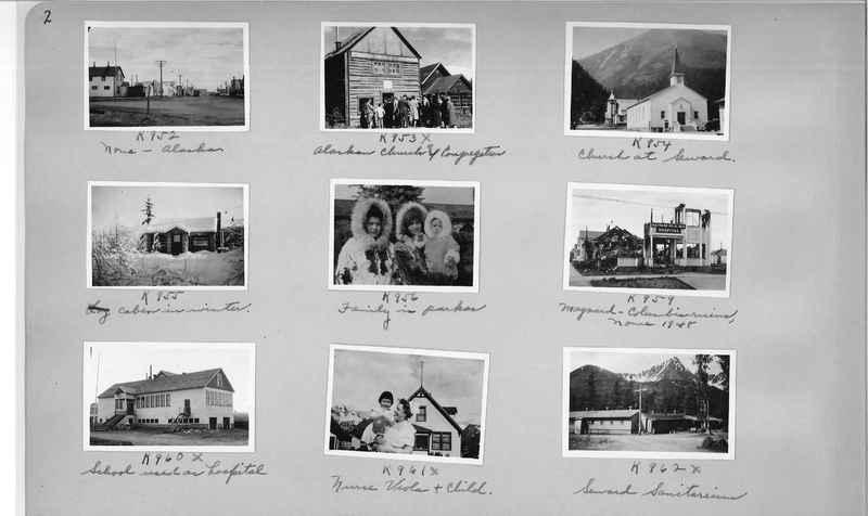 Mission Photograph Album - Alaska #2 page 0002