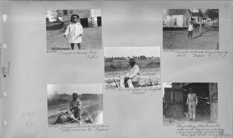 Mission Photograph Album - Negro #3 page 0211