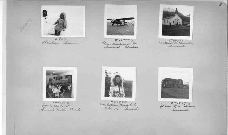 Mission Photograph Album - Alaska #2 page 0003