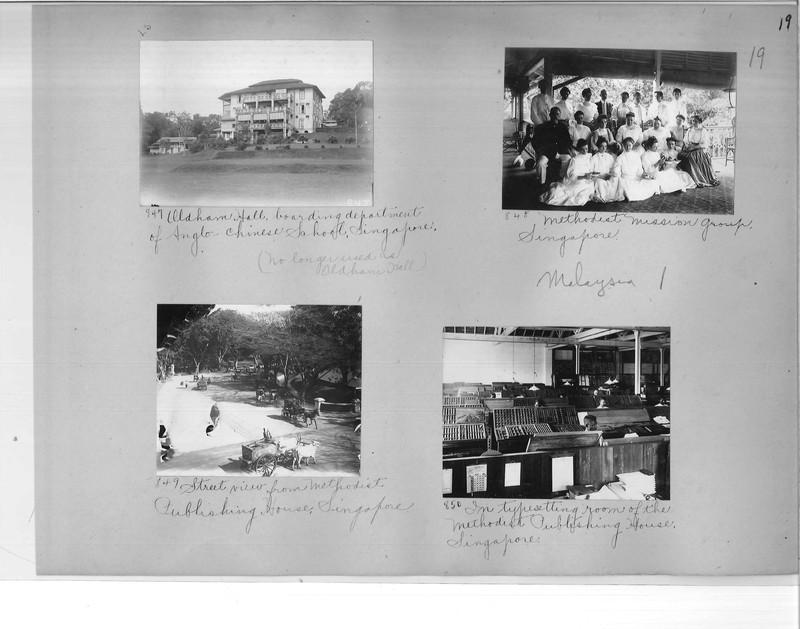 Mission Photograph Album - Malaysia #1 page 0019