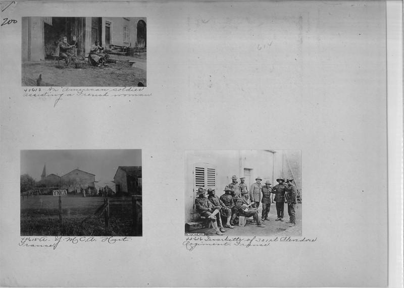 Mission Photograph Album - Europe #02 Page 0200