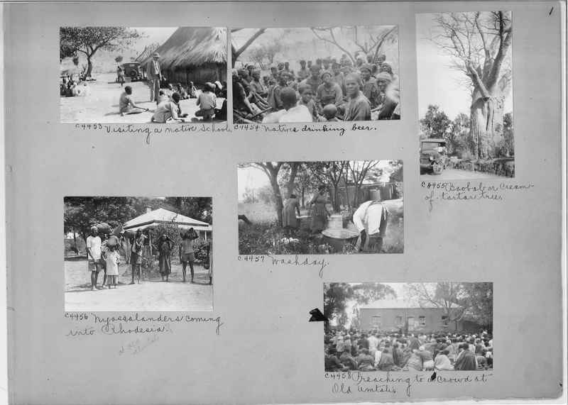 Mission Photograph Album - Africa #15 page 0001