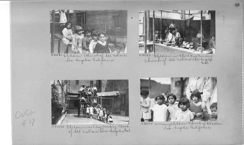 Mission Photograph Album - Cities #17 page 0063