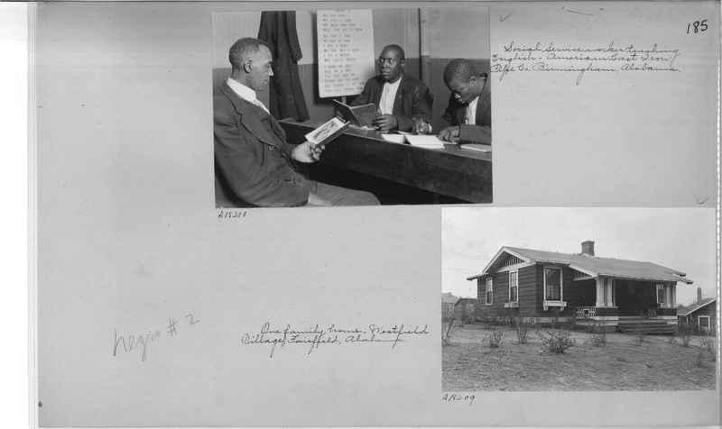 Mission Photograph Album - Negro #2 page 0185