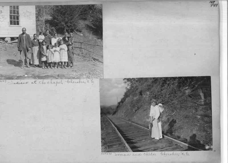 Mission Photograph Album - Indians #2 page_0149
