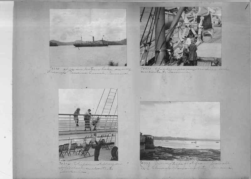 Mission Photograph Album - Panama #03 page 0001