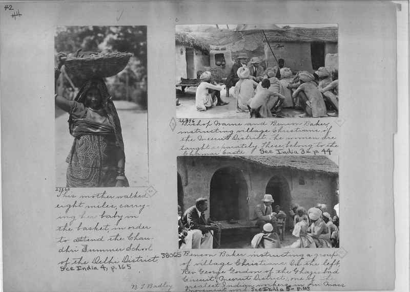 Mission Photograph Album - India - O.P. #01 Page 0042