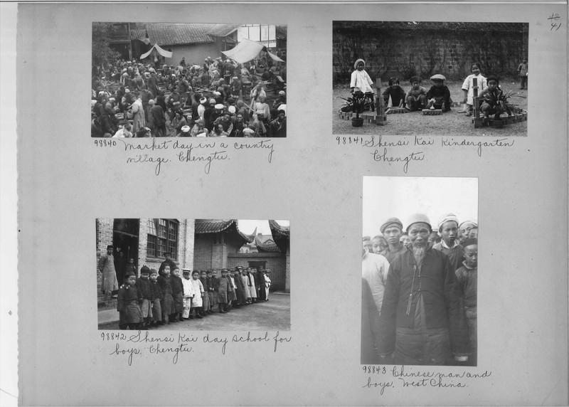 Mission Photograph Album - China #15 page 0041