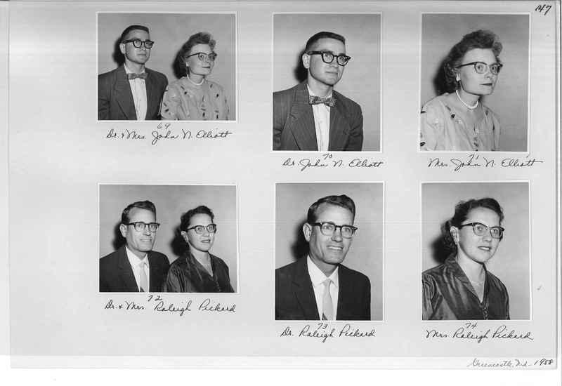 Mission Photograph Album - Portraits #10 Page 0147