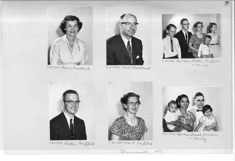 Mission Photograph Album - Portraits #10 Page 0079