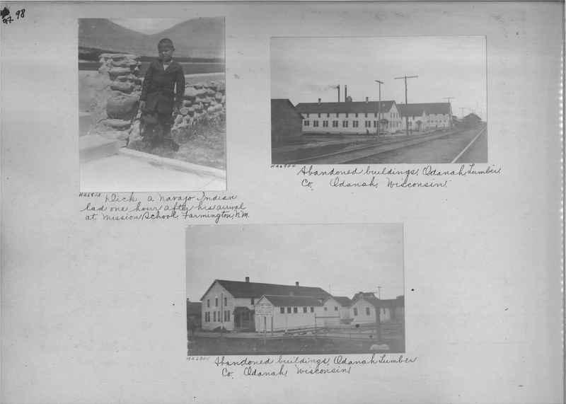Mission Photograph Album - Indians #2 page_0098