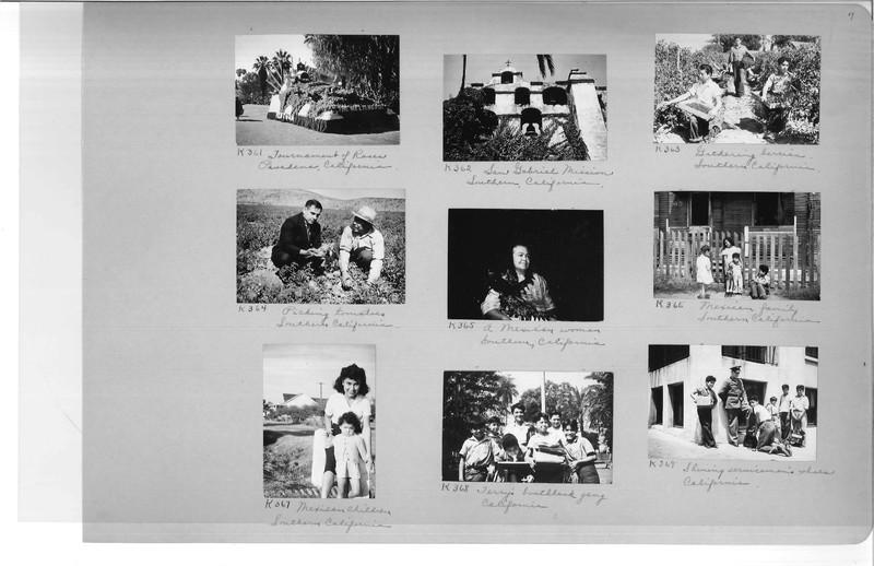 Mission Photograph Album - Latin America #3 page 0007