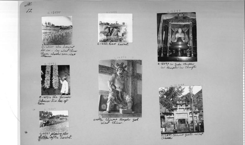 Mission Photograph Album - China #20 page 0012