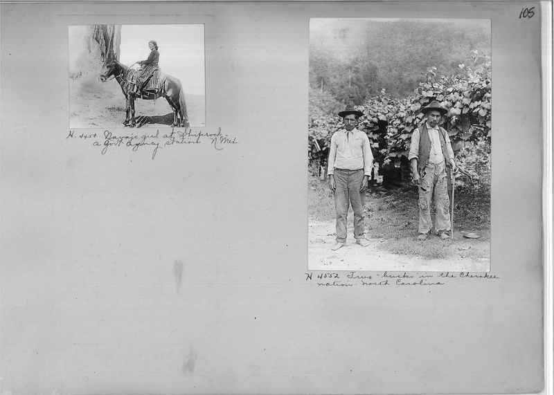 Mission Photograph Albums - Indians #1 page 0105