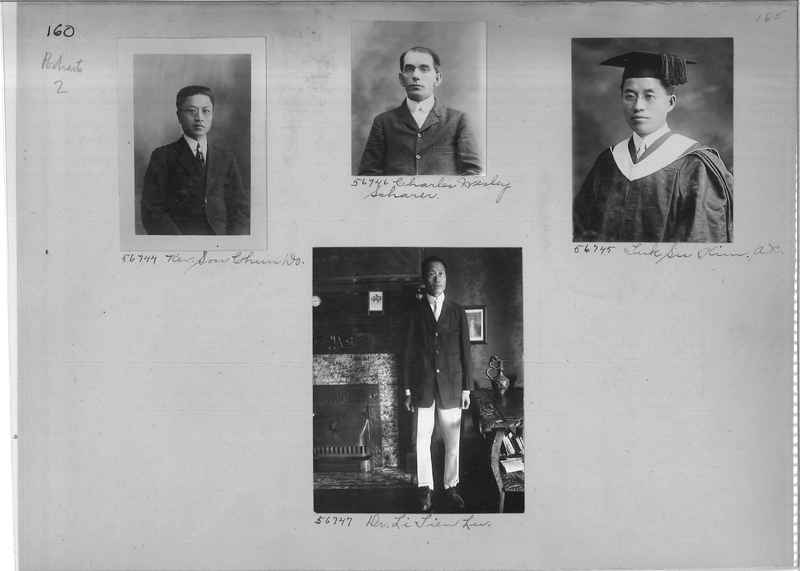 Mission Photograph Album - Portraits #2 page 0160