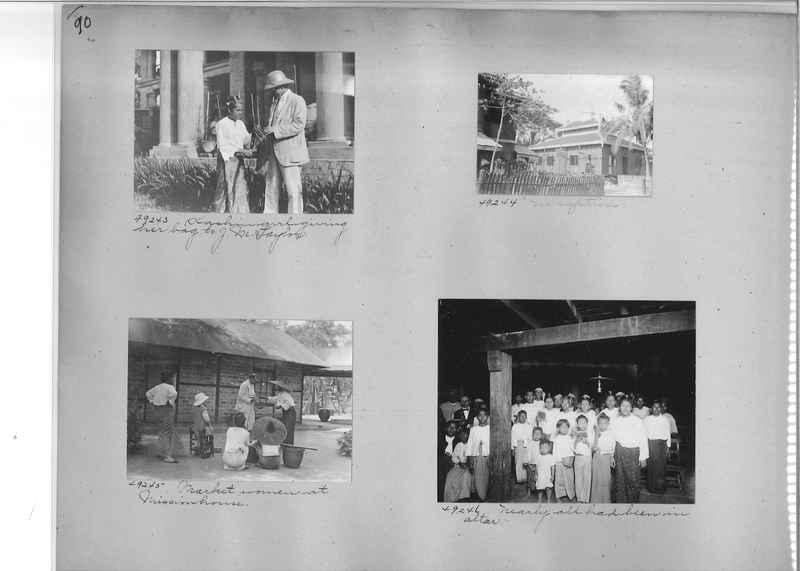 Mission Photograph Album - Burma #1 page 0090