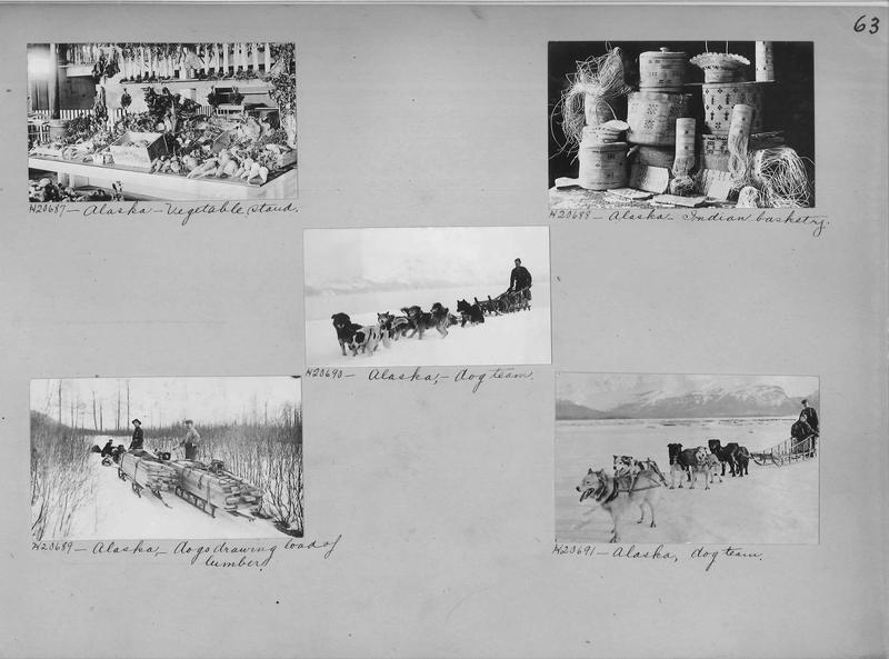 Mission Photograph Album - Alaska #1 page 0063