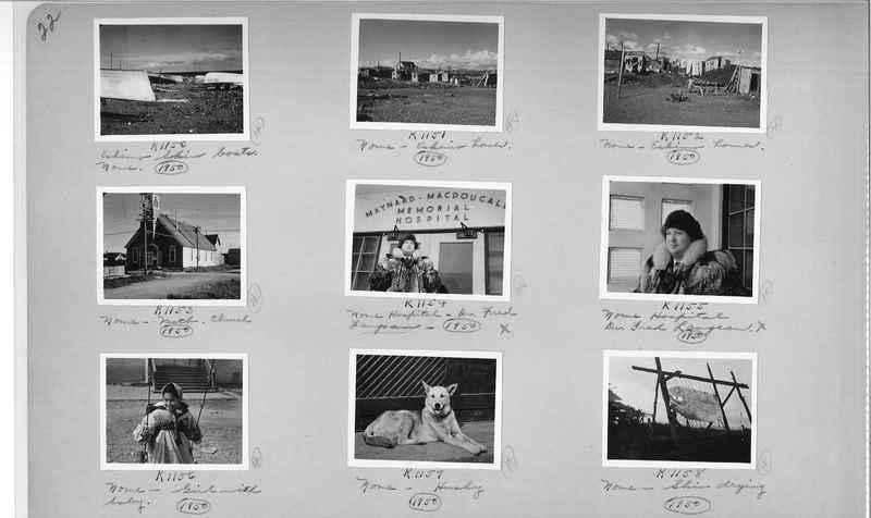 Mission Photograph Album - Alaska #2 page 0022