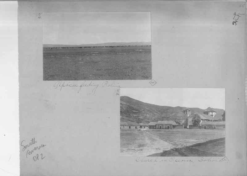 Mission Photograph Album - South America O.P. #2 page 0085